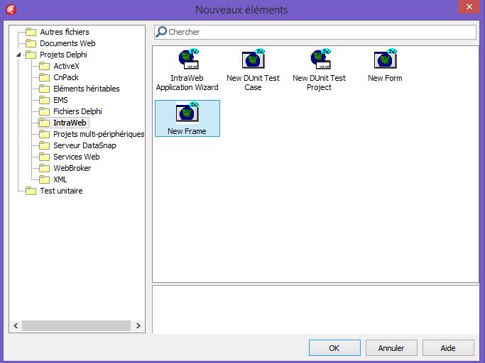 Le développement Intraweb avec Delphi